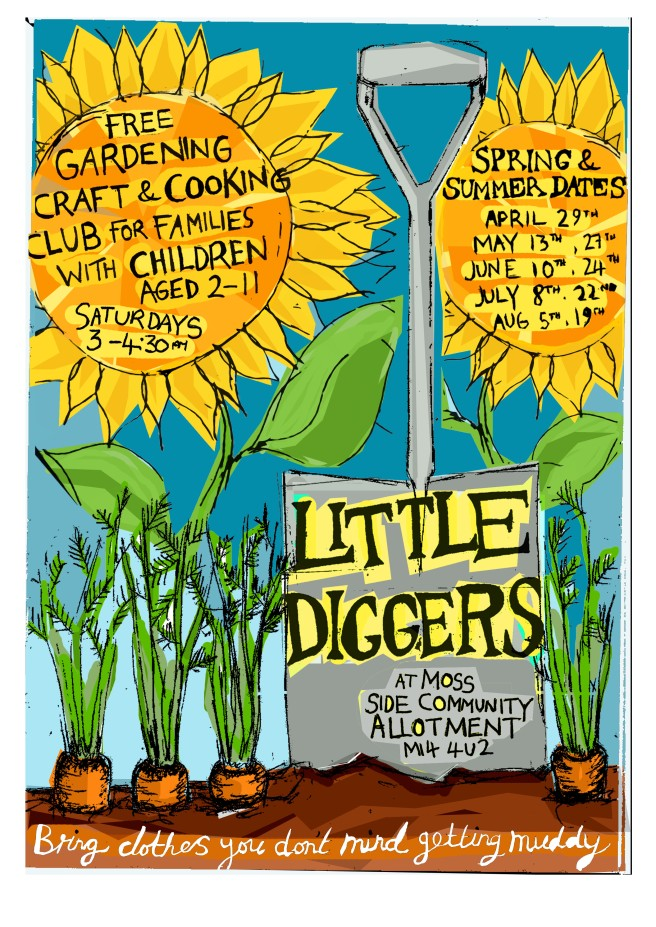 Little diggers poster 2